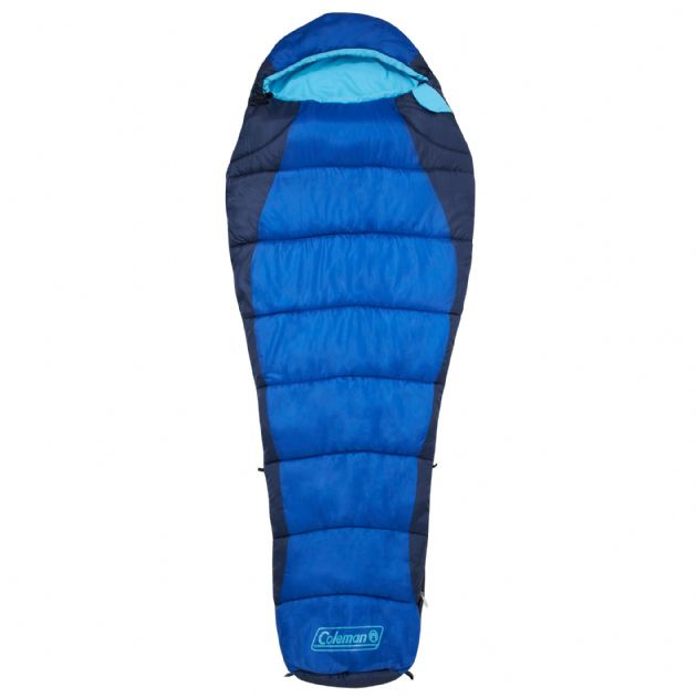 Coleman Sleeping Bag Fision 100 Mummy Camping Sleeping Bag on Sale - Grasshopper Leisure